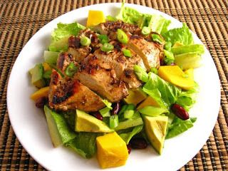 Serve Grilled Chicken Salad with Mango and Avocado for lunch and let your family or loved ones enjoy this healthy and mouth-watering meal.