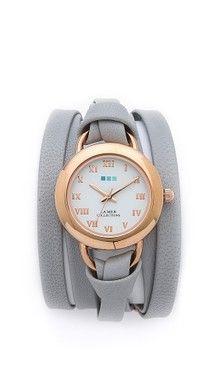 La Mer Collections Часы-браслет с заклепками | SHOPBOP