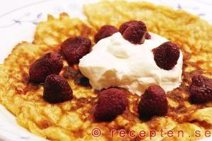 Recept på LCHF-Pannkakor utan vetemjöl