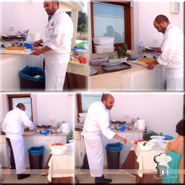 Chef a domicilio dietro le quinte