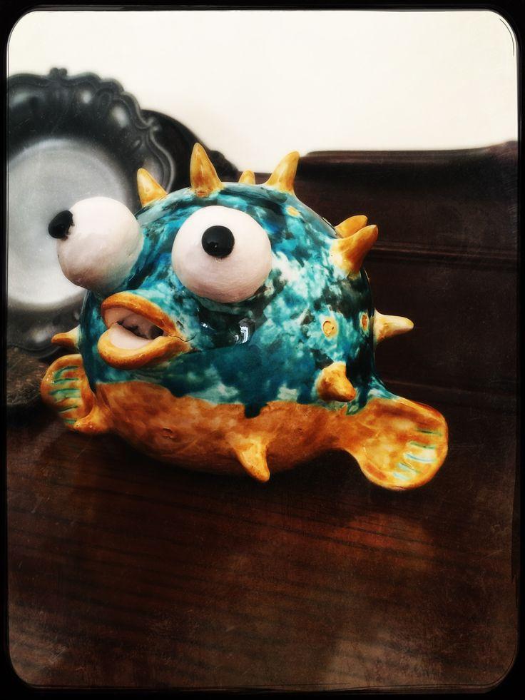 #Misskocci#pescepalla#ceramica