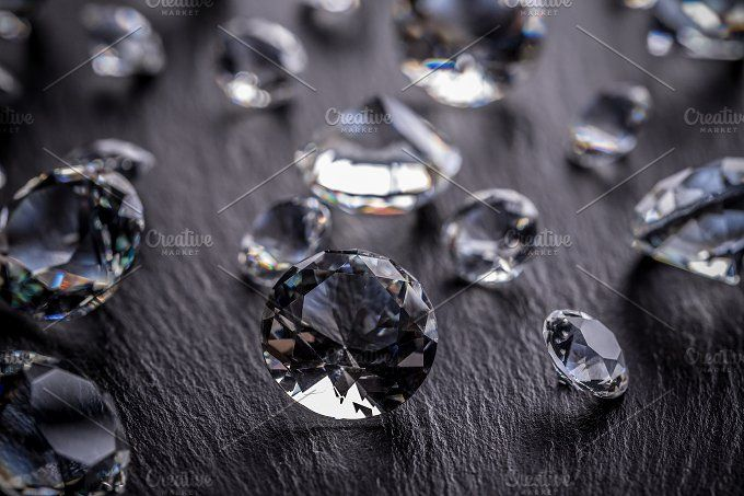 Diamonds by Grafvision photography on @creativemarket