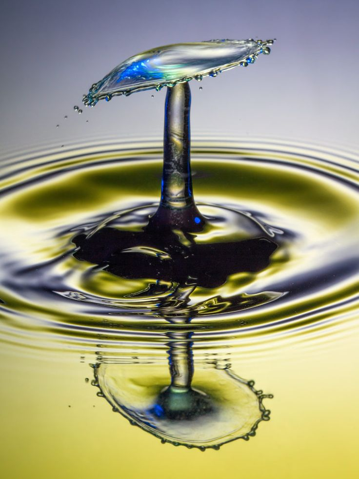 "Come fare le foto ""water drop"""