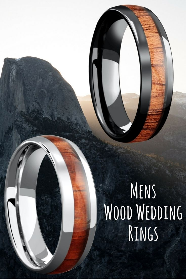 Mens Wood Wedding Rings The Most Unique Mens Wedding Rings The
