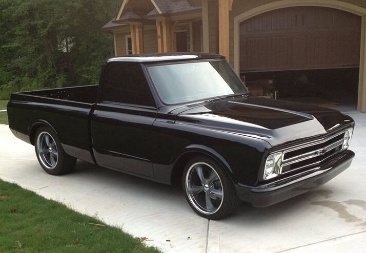 Murdered Out Cars For Sale >> Chevy black C10 truck... | auto | Pinterest | Chevy C10, Chevy and 1967 Chevy C10