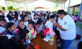 Programa de salud bucal beneficia a más de 300 niños de Xoxocotlán