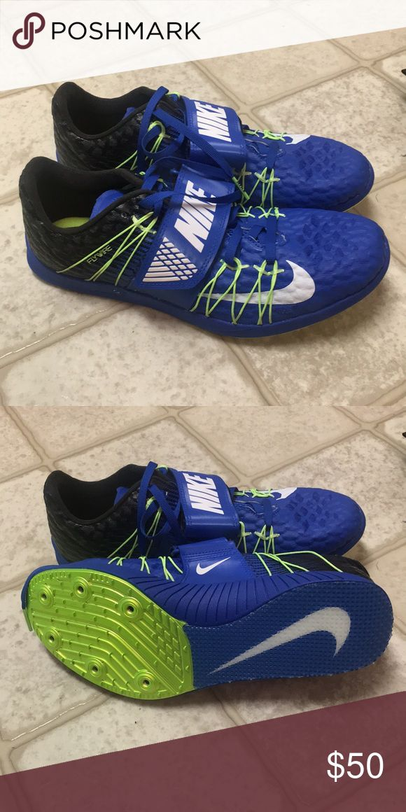 Nike triple jump spikes Men's size 8.5 Women's size 10 Brand new Nike spike bag included Nike Shoes Athletic Shoes