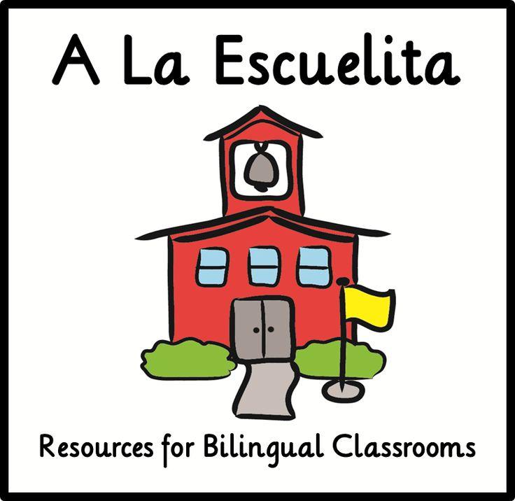 Resources for Bilingual Classrooms.   www.alaescuelita.com