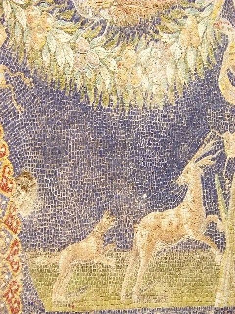 Mosaic in Bath Complex in Herculaneum Roman 1st century