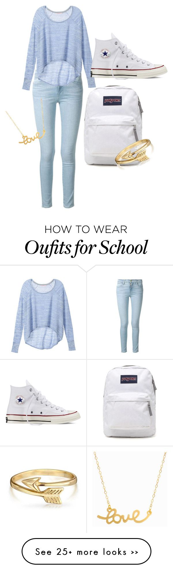 the gallery for gt light blue jeans outfit for school