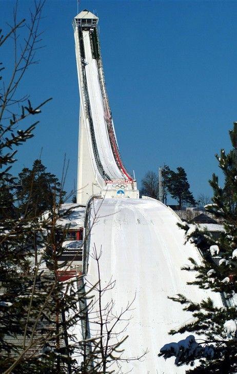 The Holmenkollen Ski Jump in Norway: Holmenkollen Ski Jump in Norway