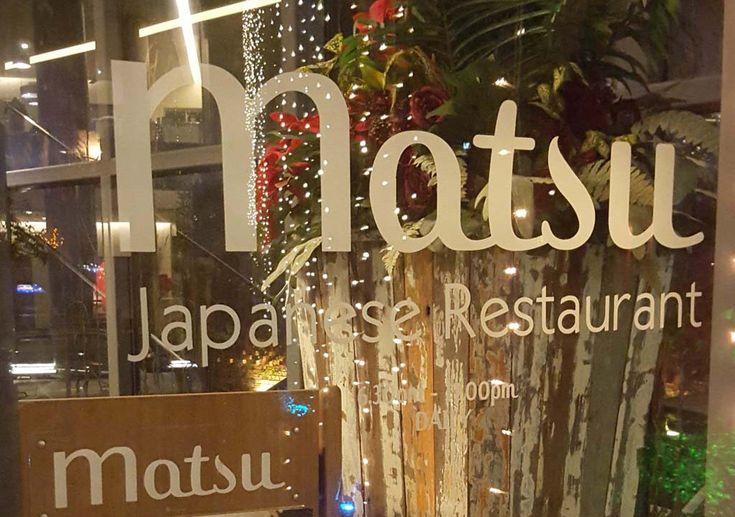 Modern Japanese Dining Review at  Matsu Lone Pine Hotel