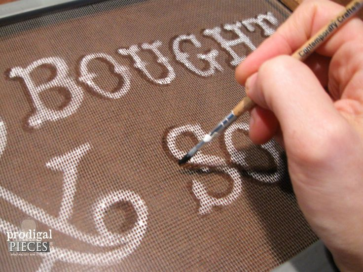 Adding Shadows to Window Screen Text   Prodigal Pieces   www.prodigalpieces.com