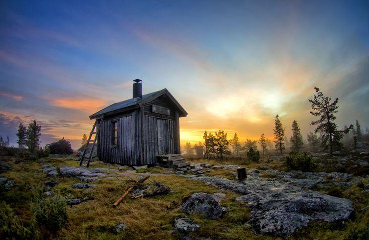 The hut, Lapland. - photo Antti-Jussi Liikala