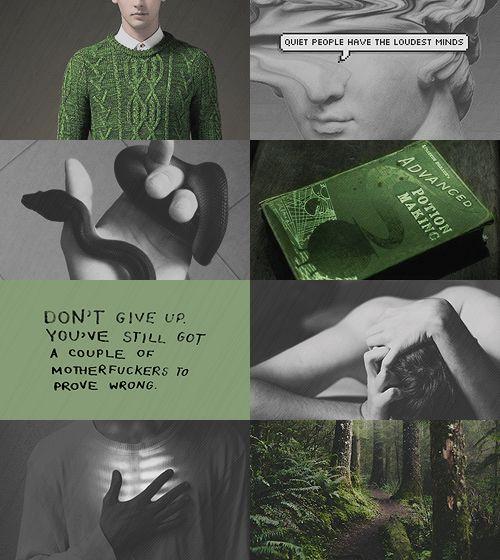 character aesthetic ; albus severus potter