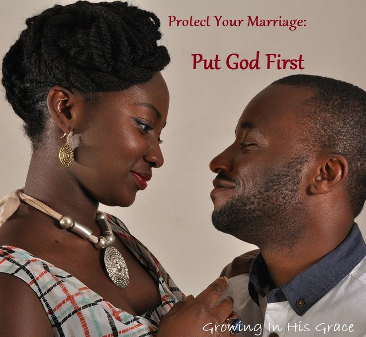 The best way to protect your marriage? Put God first. But what does that mean?  Let's talk about it.