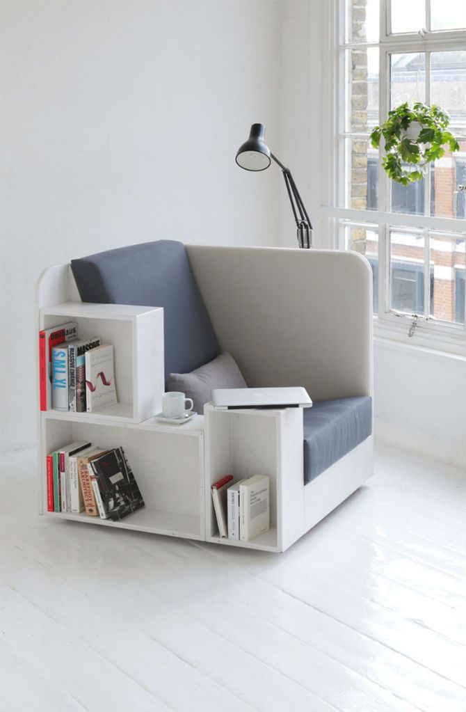 What About a Bookshelf Chair Design For your Home Library? #modernchairs #livingroomchairs #homeofficechairs comfortable chair, designer chairs, upholstered chairs | See more at http://modernchairs.eu/what-about-a-bookshelf-chair-design-chair-for-your-home-library/