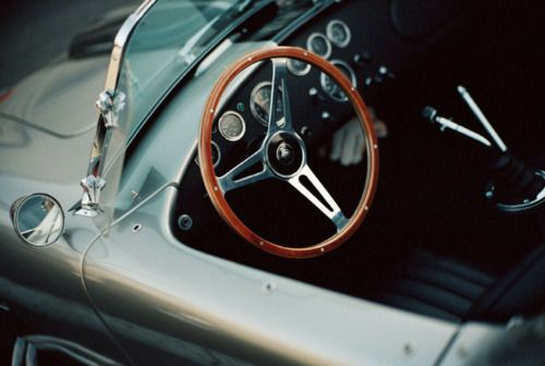 .: Old Style, Luxury Sports Cars, Classic Cars, A Real Man, Steering Wheels, Ac Cobra, Cars Interiors, Cars Girls, Girls Style