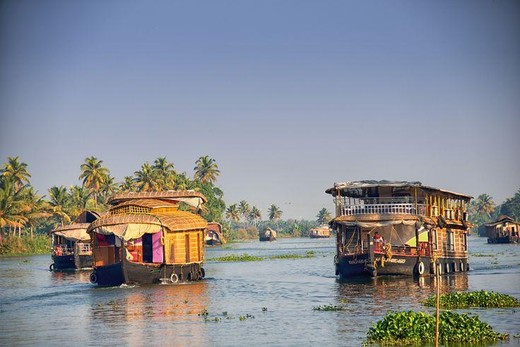 https://flic.kr/p/kMBFfq | Kerala Backwater Houseboats, Alleppey, Kerala, India