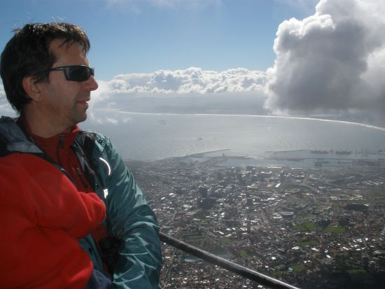 View from Table Mountain over the City of Cape Town
