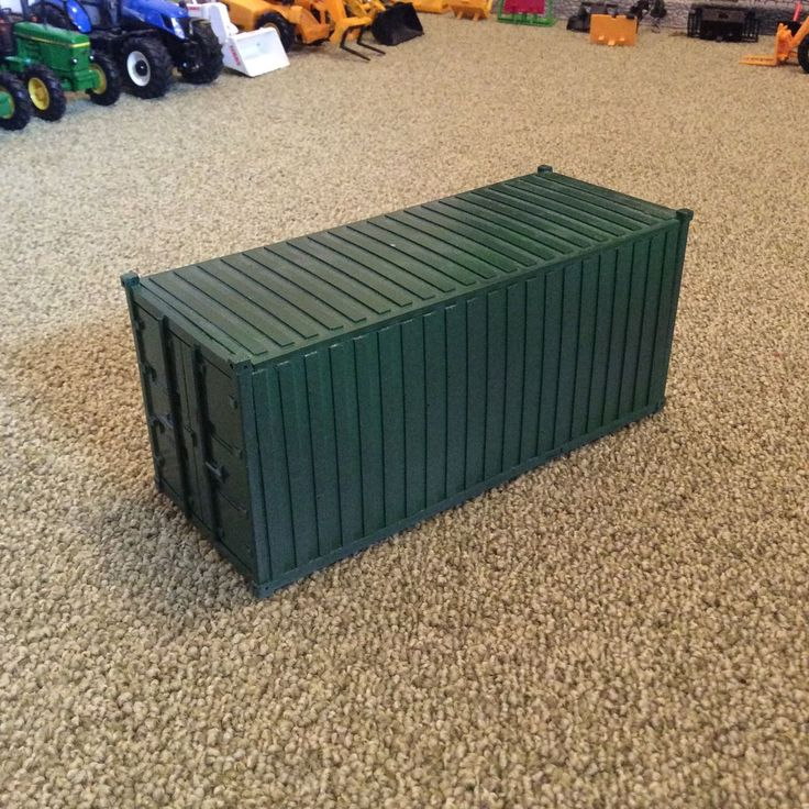 scale  britains farm shipping container  display diorama ebay models slot cars