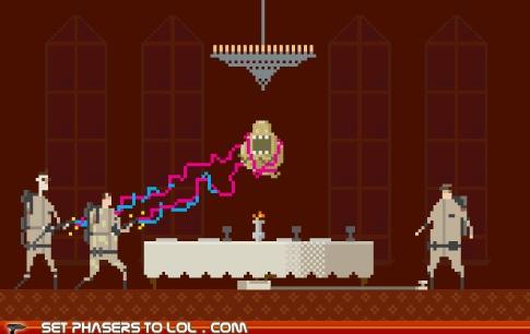 sci fi fantasy - 8-bit Ghostbusters