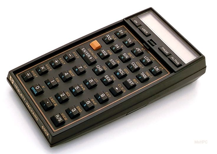 HP 41CV, sweat & numbers