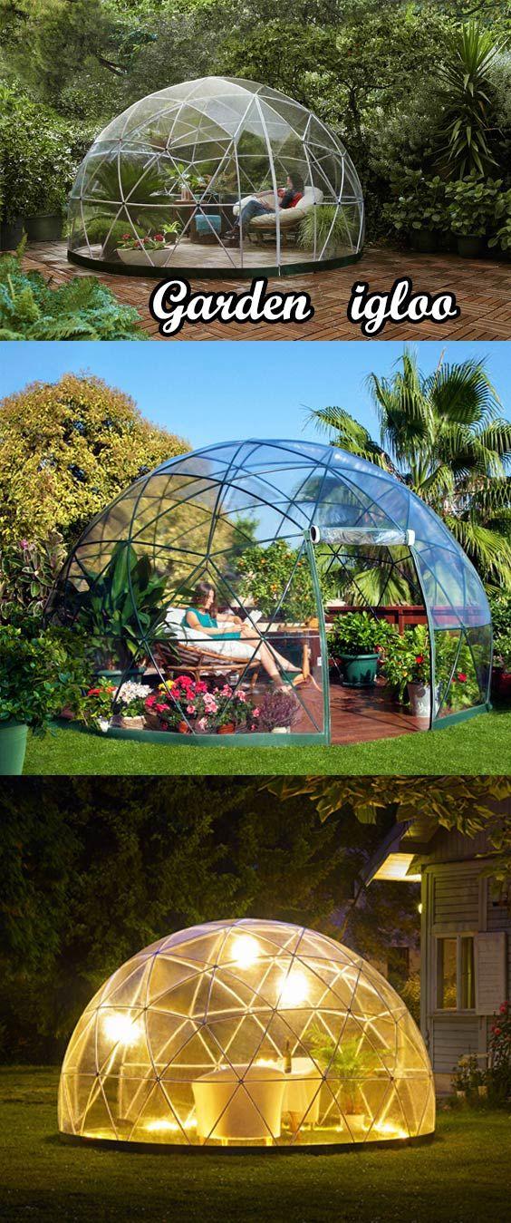 best 25 garden igloo ideas on pinterest geodesic dome. Black Bedroom Furniture Sets. Home Design Ideas