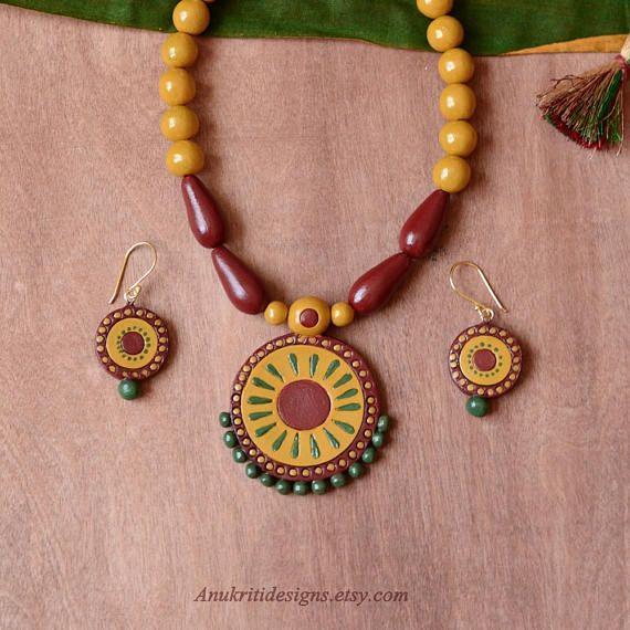 Bohemian necklace Bollywood jewelry Indian jewelry