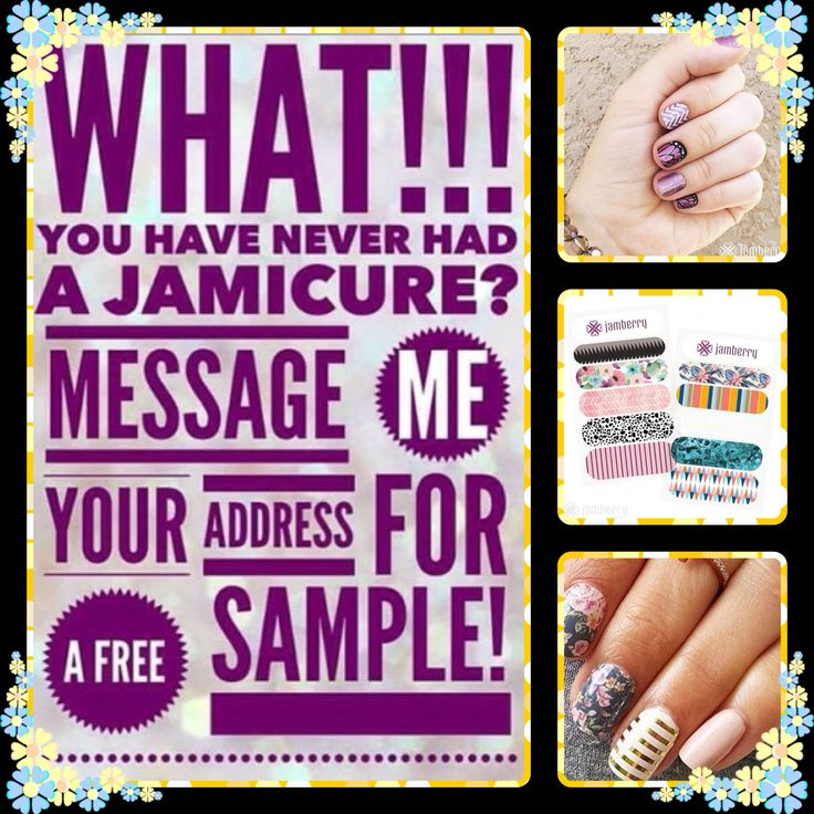 FREE JAMBERRY SAMPLE! Message me for yours on Facebook at https://www.facebook.com/groups/108533392968832/