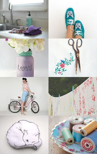 Fresh Linen by Carice on Etsy--Pinned with TreasuryPin.com