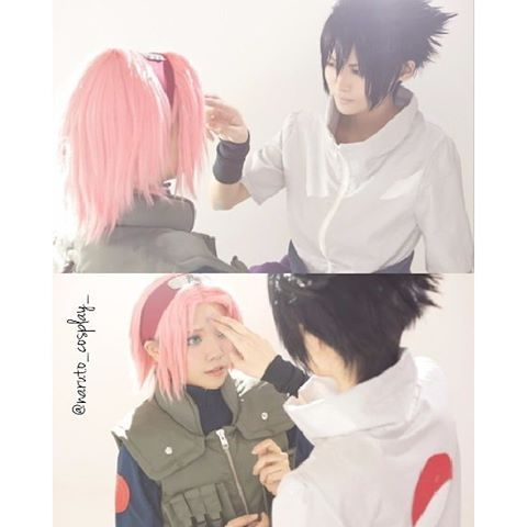 . Sasuke And Sakura . ▶◀▷◁▶◀▷◁▶◀▷◁▶◀▷ ﹏﹏﹏﹏﹏﹏﹏﹏﹏﹏﹏﹏ Naruto Cosplay World…