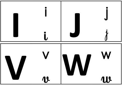 Alphabets – Affichages pour la classe – Maternelle – PS – MS – GS - CP - Pass Education