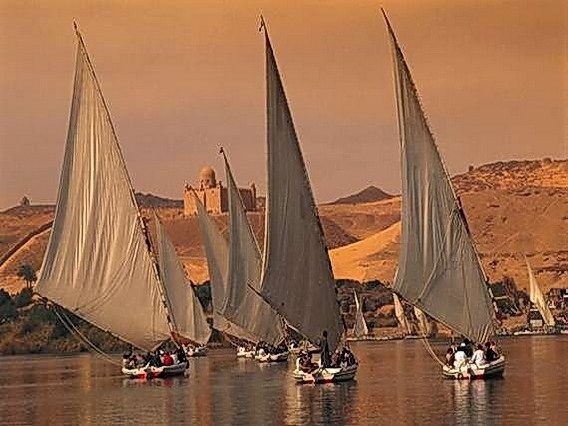 Faire une croisière en Felouque sur le Nil | #Egypte |