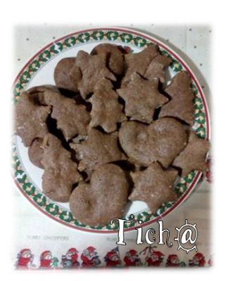 As Receitas da Ticha: Bolachas de Gengibre e Chocolate