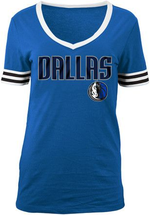 Dallas Mavericks Womens Blue Opening Night T-Shirt