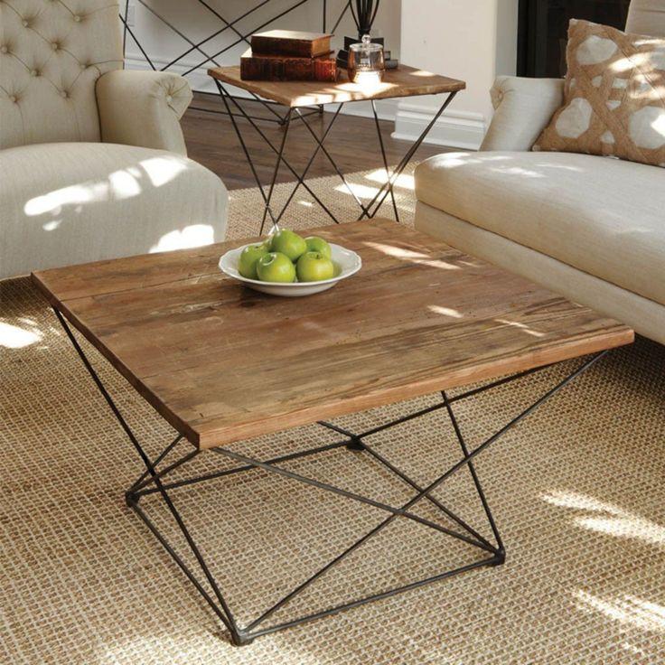 10 Elegant Coffee Table Design Ideas On A Budget   Raw ...