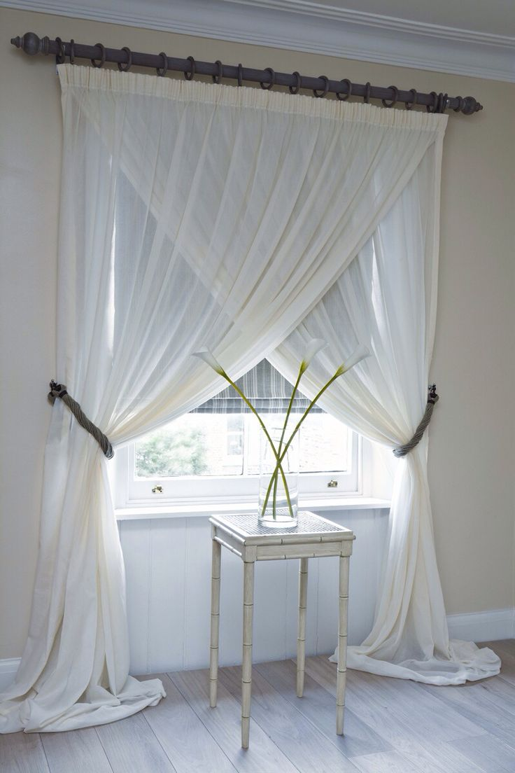 Curtains overlap