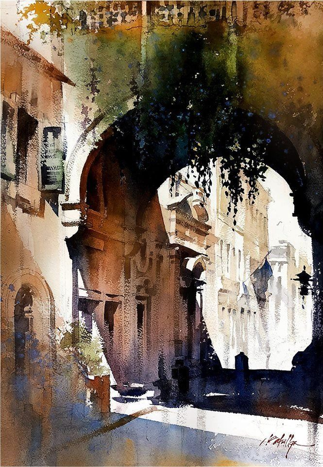 Patterns Of Light Via Giulia Rome By Thomas Wells Schaller