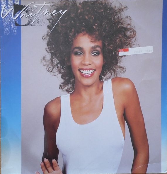 WHITNEY HOUSTON Whitney 1987 German Issue Vinyl lp Album  33 rpm Record soul Dance pop 80s 208141 Free s&h