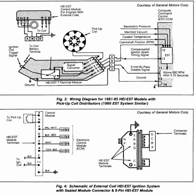 1985 Chevy Hei Distributor Wiring
