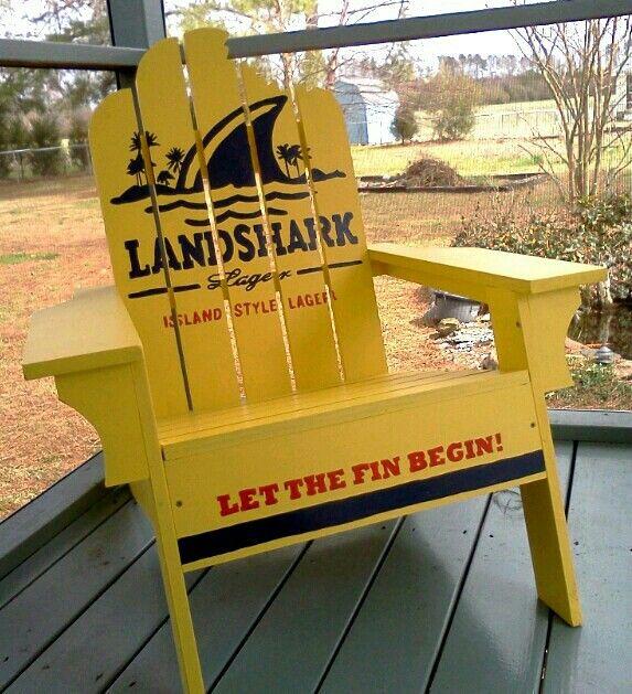 Landshark Adirondack Chair