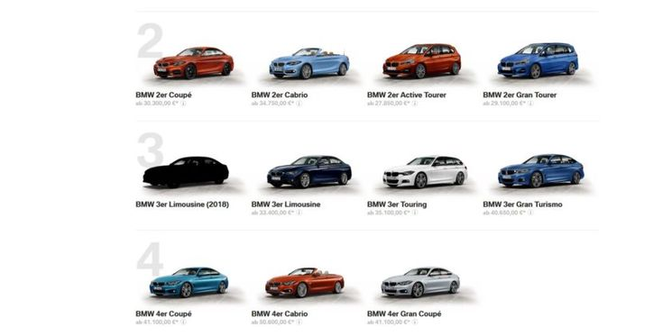 BMW G20 3 Series Silhouette Shows Up on German Website