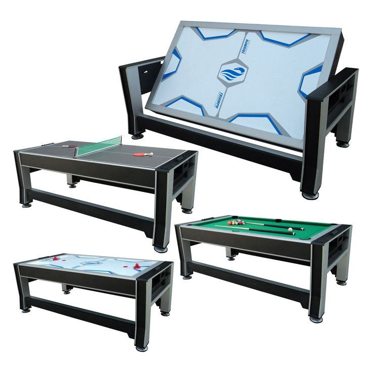 Triumph Sports 84 in. 3-in-1 Rotating Game Table | from hayneedle.com