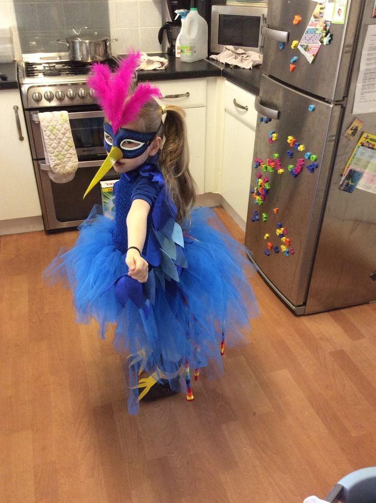 Nellie as the Roly Poly Bird on World Book Day 2016!
