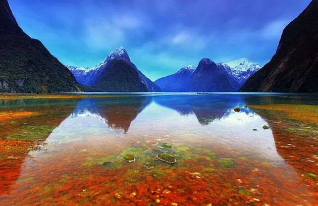 12 Top-Rated Tourist Attractions in New Zealand: Fiordland National Park and Milford Sound, South Island