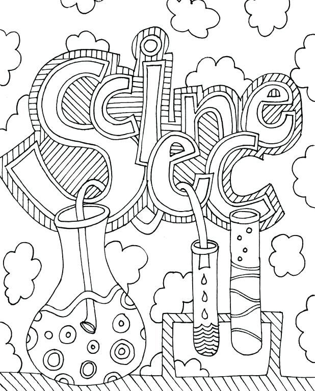 Science Coloring Pages Best Coloring Pages For Kids Science Doodles Science Notebook Cover Science Notebooks