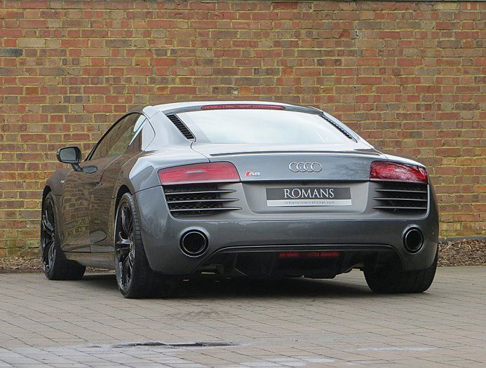 2014 14 Used Audi R8 V10 Plus S Tronic For Sale Daytona Grey