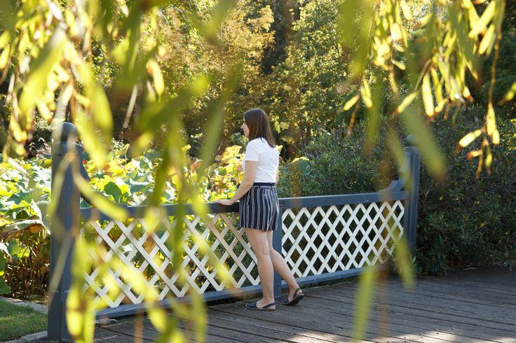 Striped Sundays – Botanical Gardens