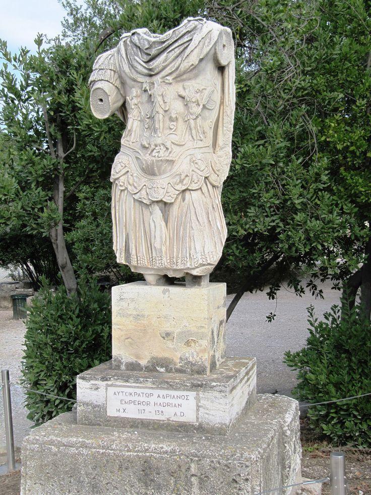 Emperor Hadrian, Ancient Agora of #Athens #Culture #History #KeyTours